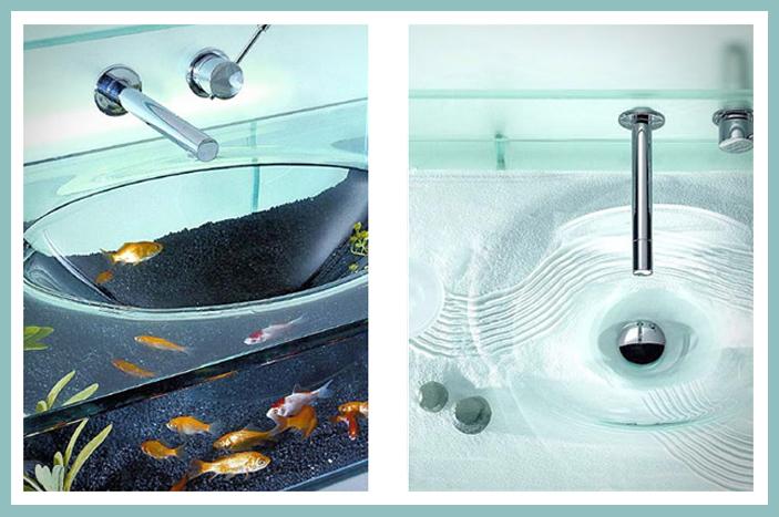 aquarium sink lavabo