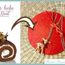 tutoriel réalisation collier biche de Noël