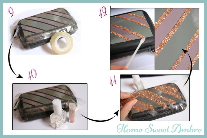 partie 3 customiser sacoche ds nintendo et vernis à ongles