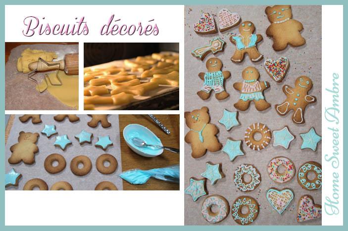 Biscuits décorés homesweetambre