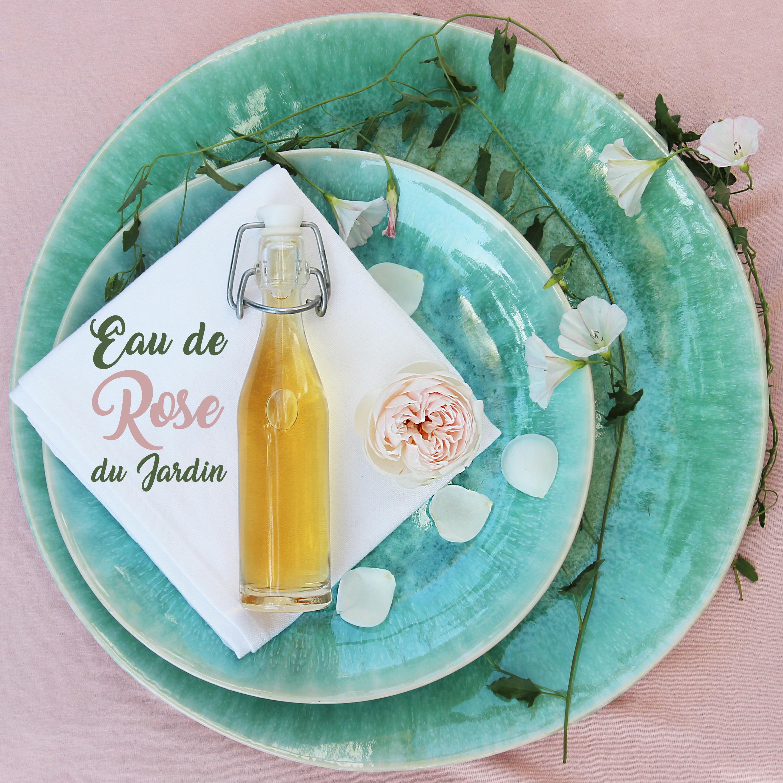 Réalisation d'une eau de rose 100% naturelle - diy - fait maison - homesweetambre