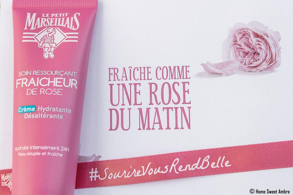 Soin ressourçant Fraicheur de rose Le Petit Marseillais