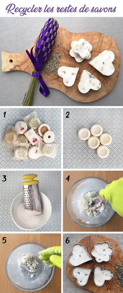 Recycler des restes de savons, le tutoriel