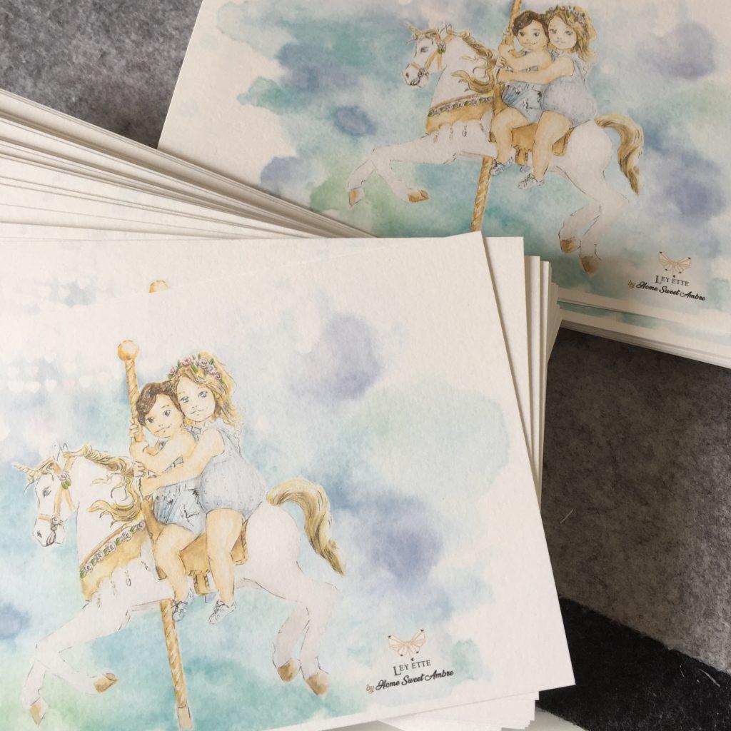Illustratrice pour Ley Ette, par Home Sweet Ambre