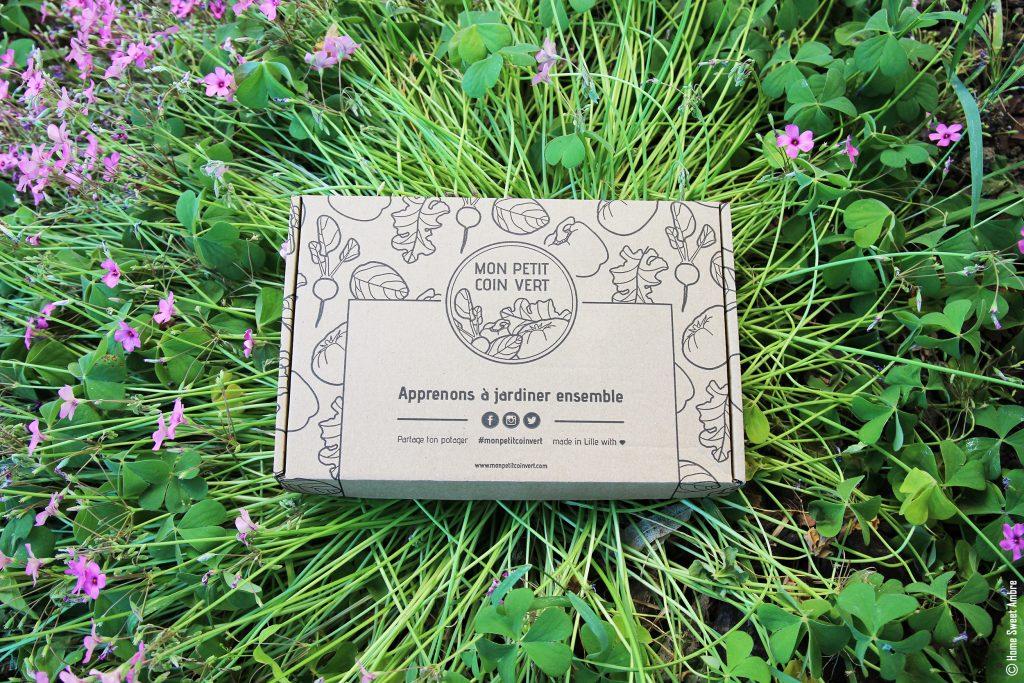 Box mon petit coin vert apprenons à jardiner ensemble par home sweet ambre