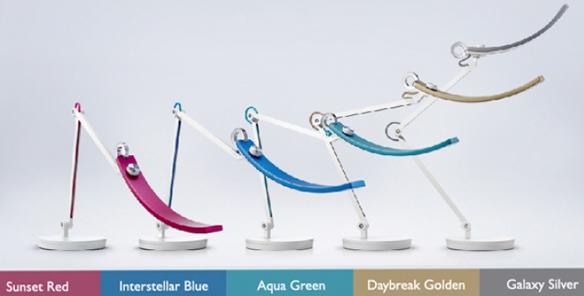 Les différentes couleurs de la lampe Wit