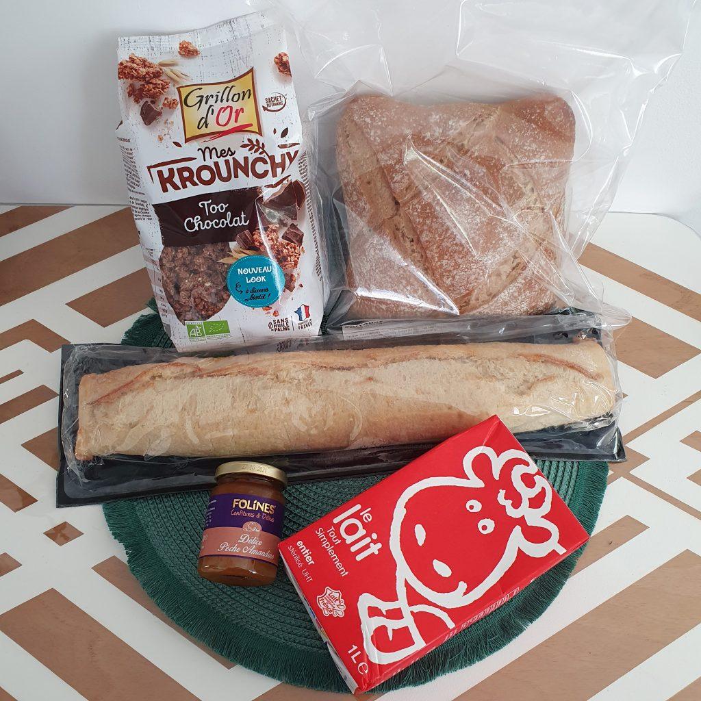 Quitoque petit déjeuner