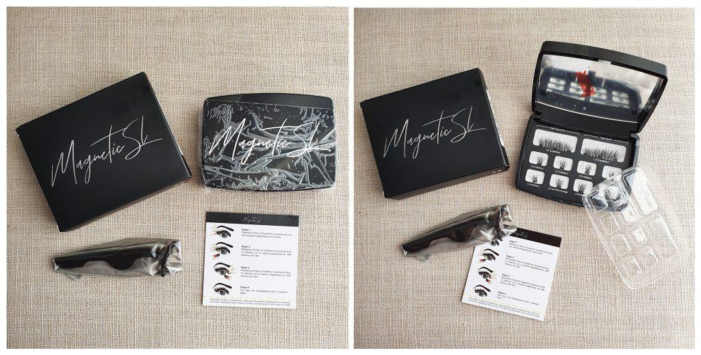 Faux-cils aimantés de la marque magnetic SL
